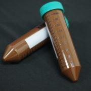 UVsafe™ Amber 50 ml Centrifuge Tubes with Plug Style Caps. Sterile
