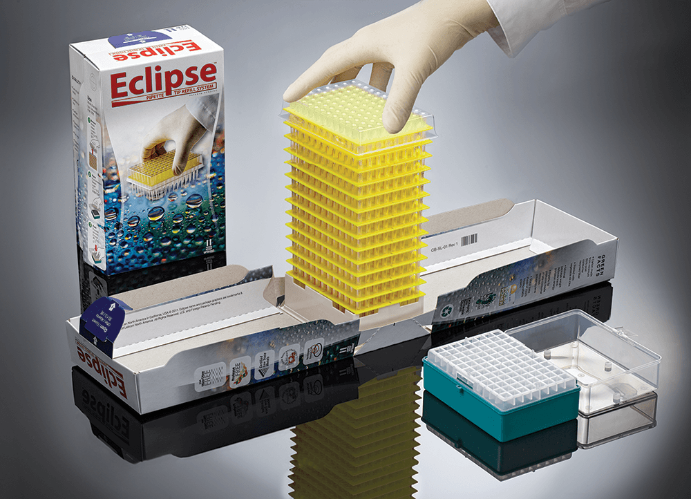 Eclipse™ Refill for 100 – 1250ul Premier™ Low Force Pipet Tips, Non-sterile
