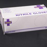 Labskins[n+] Nitrile PLUS Blue Gloves (6mil)