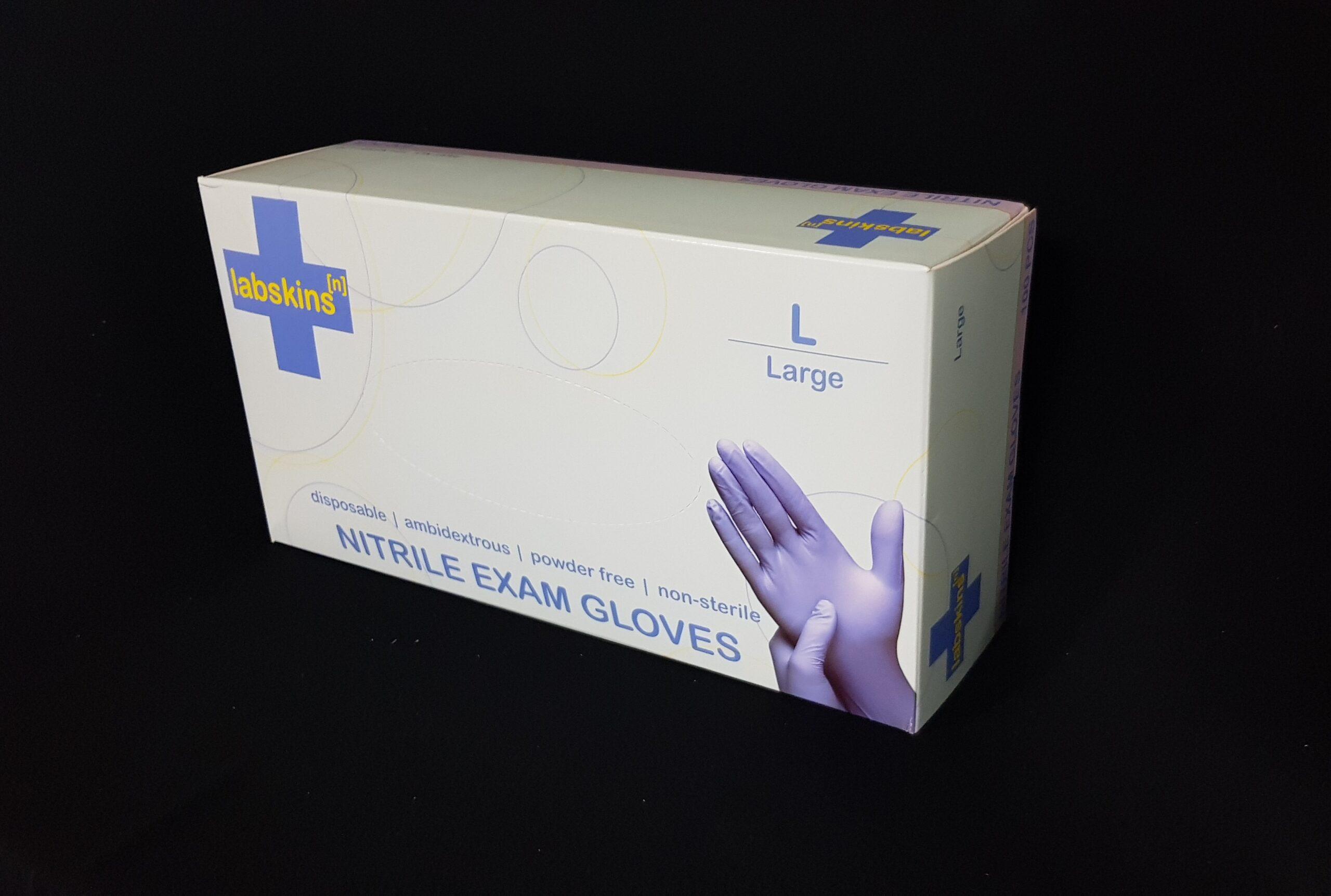 Labskins[n] Nitrile Gloves (4.5mil)