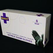 Labskins[n+] Nitrile PLUS Black Gloves (7.5mil)